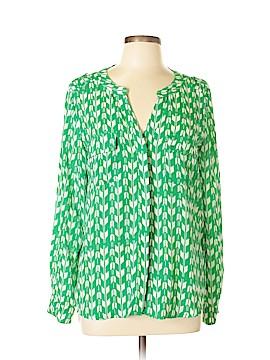 Eclair Long Sleeve Blouse Size L
