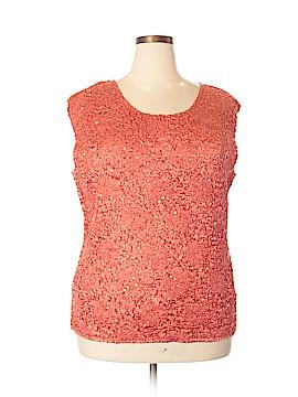 Rafaella Sleeveless Blouse Size 2X (Plus)