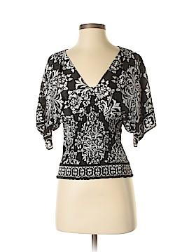 White House Black Market Short Sleeve Blouse Size XS