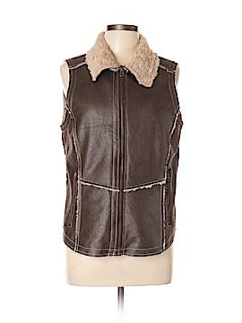 North River Outfitters Faux Fur Vest Size L