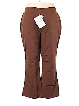 Denim & Co Khakis Size 3X (Plus)