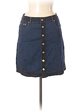 INC International Concepts Denim Skirt Size 6 (Petite)
