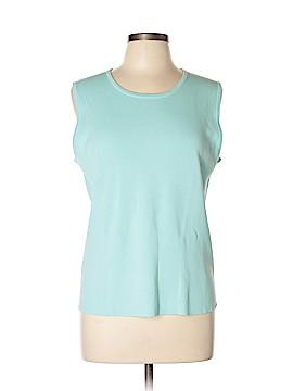 Laura Ashley Sleeveless T-Shirt Size XL