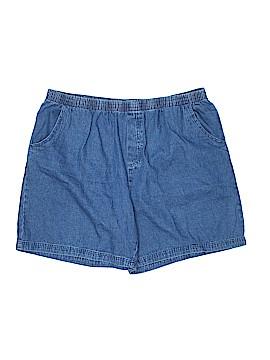 Basic Editions Denim Shorts Size XXL