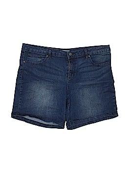 New York & Company Denim Shorts Size 18 (Plus)