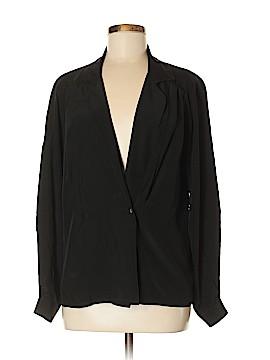 Barry Bricken Long Sleeve Silk Top Size 6