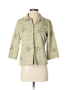 Tommy Bahama 3/4 Sleeve Silk Top Size XS