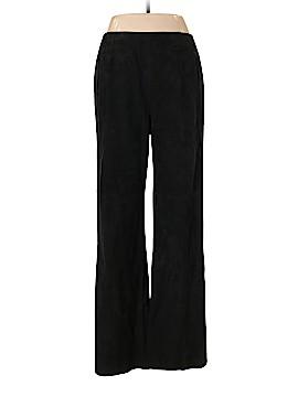 Oscar De La Renta Leather Pants Size 12