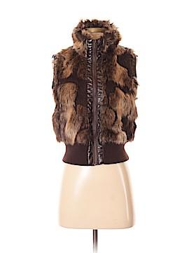 Love Culture Faux Fur Vest Size S