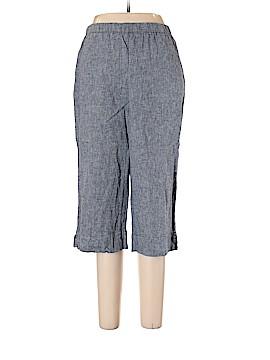Kim Rogers Linen Pants Size L (Petite)