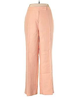 Villager Sport by Liz Claiborne Linen Pants Size 16