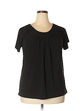 Josephine Chaus Short Sleeve Top Size XXL