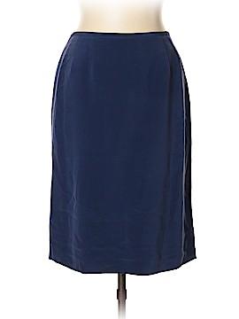 Kasper A.S.L. Silk Skirt Size 12