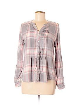 Croft & Barrow Long Sleeve Button-Down Shirt Size S (Petite)
