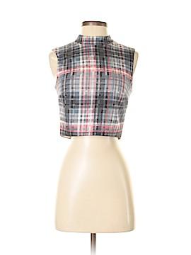 Nicholas Sleeveless Silk Top Size 2