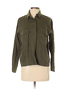 Oak + Fort Long Sleeve Button-Down Shirt Size XS