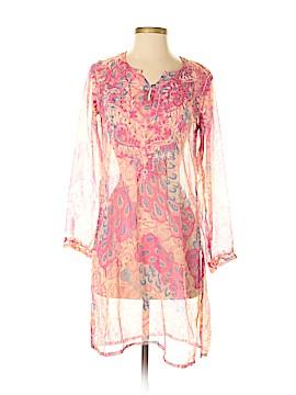 Raj 3/4 Sleeve Silk Top Size S