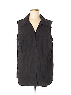White Stag Sleeveless Button-Down Shirt Size 38 - 40