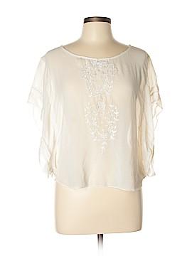 Ultra Pink Short Sleeve Blouse Size L