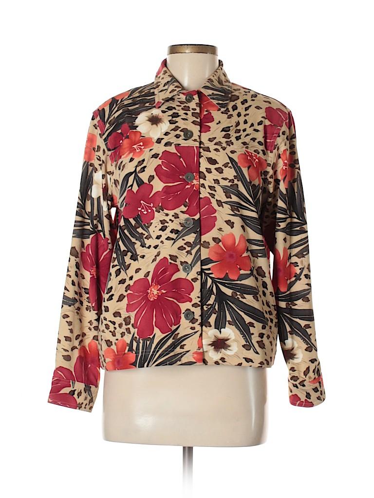 Alfred Dunner Women Jacket Size 8 (Petite)