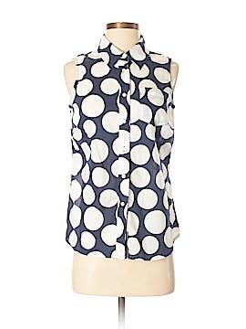 Boden Sleeveless Button-Down Shirt Size 4