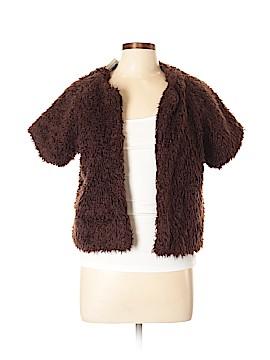 AK Anne Klein Faux Fur Jacket Size L