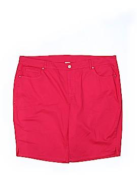 Just My Style Denim Shorts Size 20 (Plus)