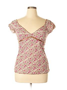 FANG Short Sleeve Blouse Size L