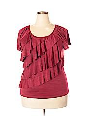 Notations Women Short Sleeve Top Size XL