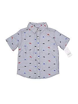 Carter's Short Sleeve Button-Down Shirt Size 24 mo