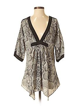 Rachel Zoe 3/4 Sleeve Silk Top Size S