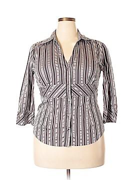 Gitano 3/4 Sleeve Button-Down Shirt Size XL