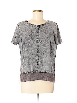 XCVI Short Sleeve Blouse Size M