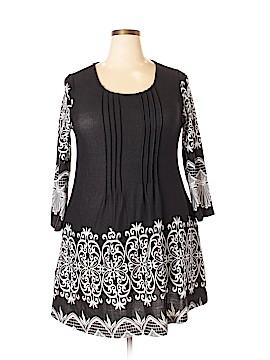 Ice Silk Casual Dress Size 1X (Plus)