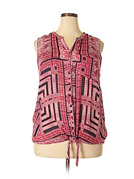 Lucky Brand Sleeveless Blouse Size 3X (Plus)
