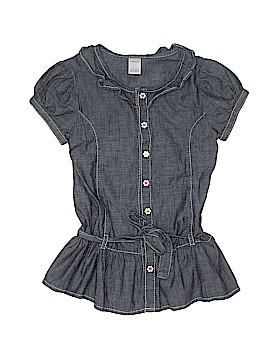 Gymboree Short Sleeve Button-Down Shirt Size 10