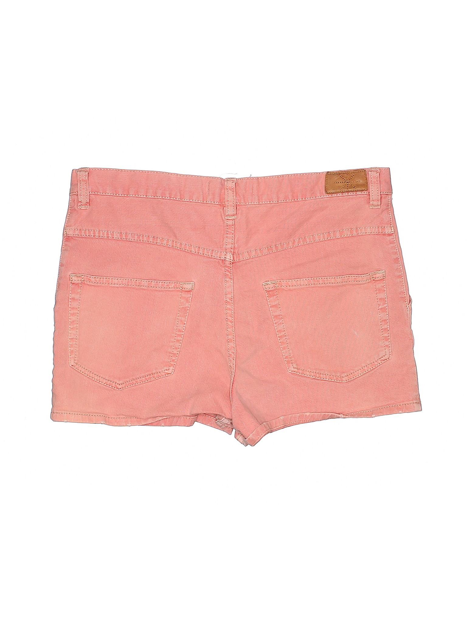 dd1ead091ca Étoile Isabel Marant Solid Coral Denim Shorts Size 36 (FR) - 80% off ...