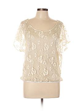 Dantelle Short Sleeve Blouse Size L