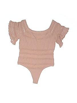 Ronny Kobo Short Sleeve Blouse Size M