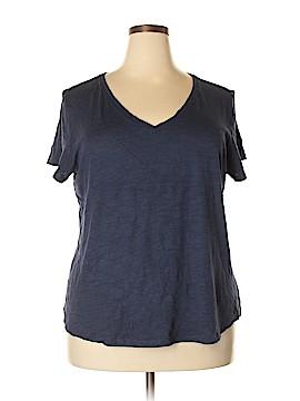 Dept222 Short Sleeve Top Size 2X (Plus)
