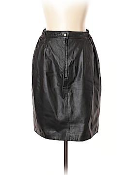 Brandon Thomas Leather Skirt Size 12