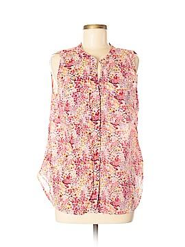 Gap Outlet Sleeveless Button-Down Shirt Size M