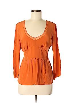 Luciano Dante 3/4 Sleeve Silk Top Size L