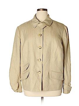 L-RL Lauren Active Ralph Lauren Silk Blazer Size 22W (Plus)