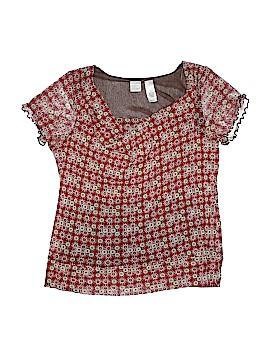 Emma James Short Sleeve Blouse Size 1X (Plus)