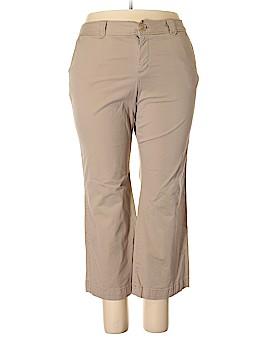 Merona Khakis Size 20 (Plus)