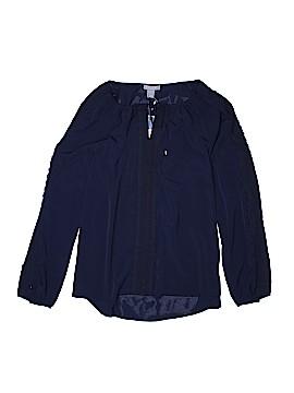 Saint Tropez West Long Sleeve Blouse Size L