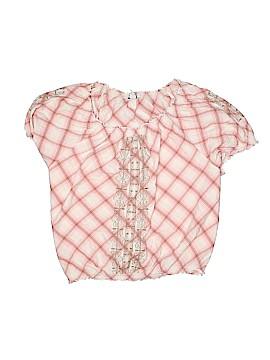 Style&Co Sport Short Sleeve Blouse Size 24w (Plus)