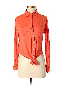 Zoa Long Sleeve Button-Down Shirt Size XS