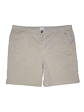 L.L.Bean Khaki Shorts Size 24W (Plus)